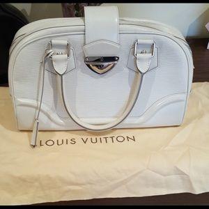 Handbags - LOUIS VUITTON WHITE EPILEATHER BAG